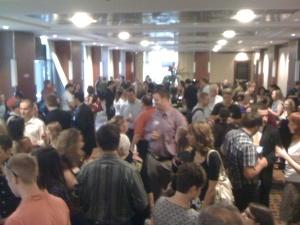 Twitterers convene at Hyatt Regency Chicago, 8/4/09